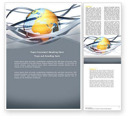 Global: World Global Tendencies Word Template #04376