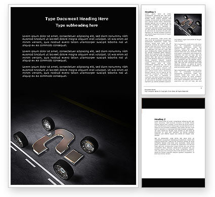 New Automobile Inventions Word Template