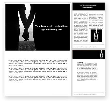 Relationship Word Template, 04476, People — PoweredTemplate.com