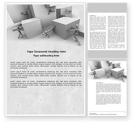Different Angle Word Template, 04483, Consulting — PoweredTemplate.com