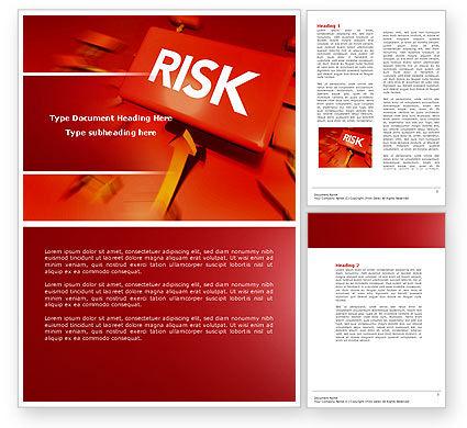 Business: Modello Word - Blocco rischio #04516