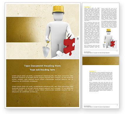 Construction: Reconstruction Word Template #04537