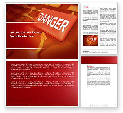 Consulting: Danger Word Template #04539