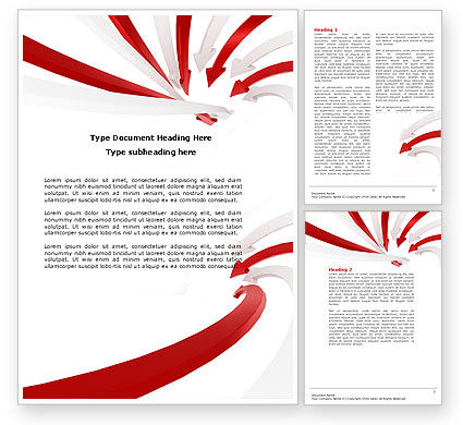 Vortex Word Template, 04585, Consulting — PoweredTemplate.com