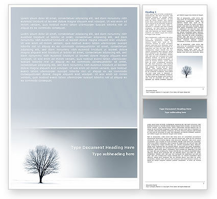 Nature & Environment: Plantilla de Word - espacios en blanco #04588