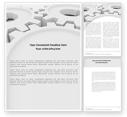 Utilities/Industrial: Process Word Template #04598