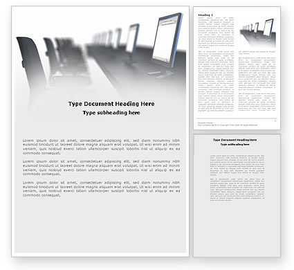Education & Training: Professional Education Word Template #04605