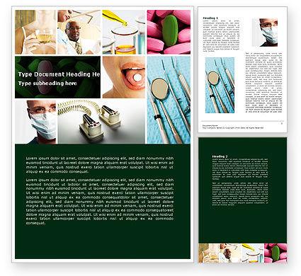 Medical: Moderne Methoden Van Behandeling Word Template #04621