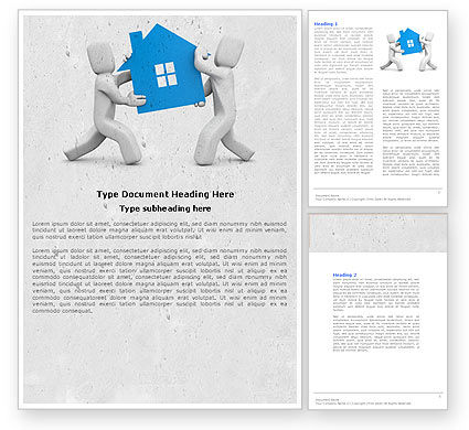 Real Property Mortgage Word Template, 04734, Financial/Accounting — PoweredTemplate.com