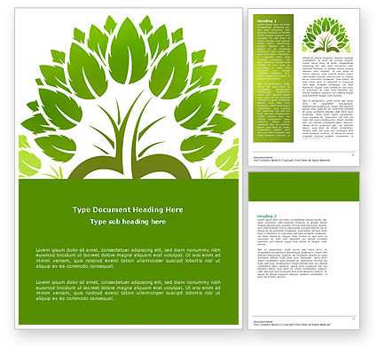 Ecology Word Template