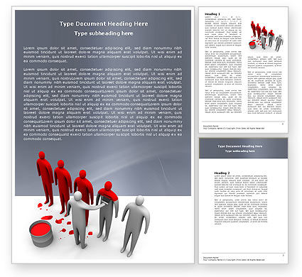 Education & Training: Likeness Word Template #04904