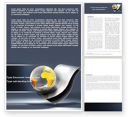 Global: Modelo do Word - internacional #05066