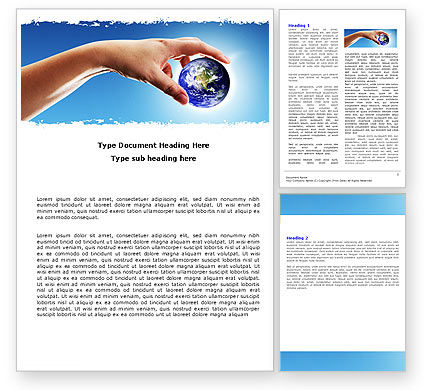 Global: Global Links Word Template #05162