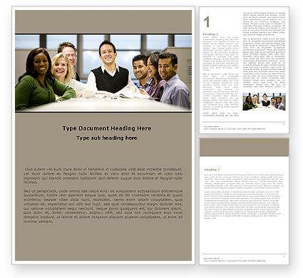 Business: Working Group Word Template #05248