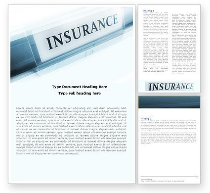 Insurance Word Template