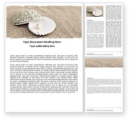 Pearl Word Template, 05378, Holiday/Special Occasion — PoweredTemplate.com