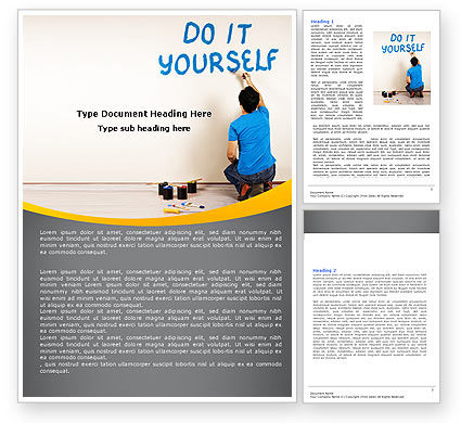 Business Concepts: Do It Yourself Word Template #05440