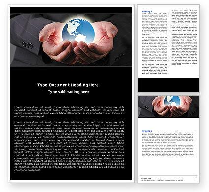 Global: World Integration Word Template #05445