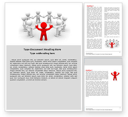 Union Word Template, 05459, Consulting — PoweredTemplate.com