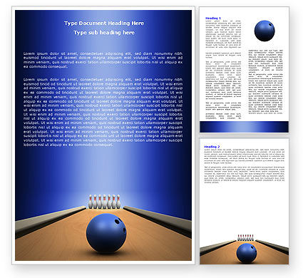 Hitting The Goal Word Template, 05469, Sports — PoweredTemplate.com