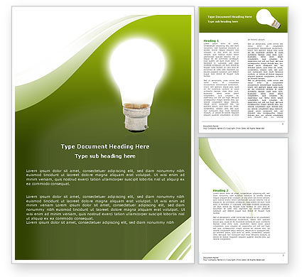 Education & Training: Creative Solution Word Template #05530