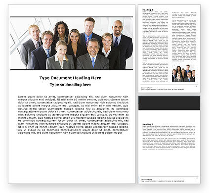 Business: Business Personnel Word Template #05550