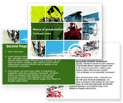 powerpoint template designer. Abstract Design PowerPoint