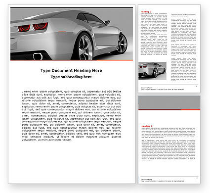Car Ad Template for Advertising Needs ID 05566 – Car Ad Template