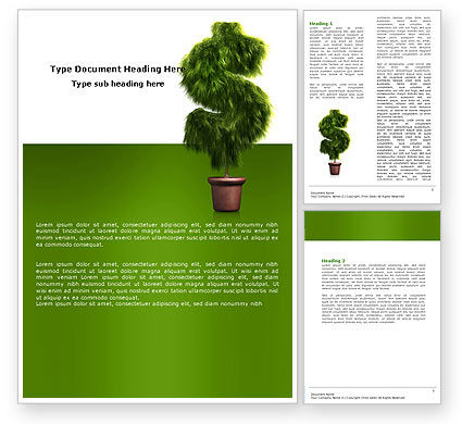 Financial/Accounting: Dollar Tree Word Template #05701