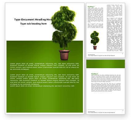 Dollar Tree Word Template