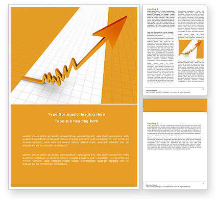Consulting: Growth Rate Word Template #05754