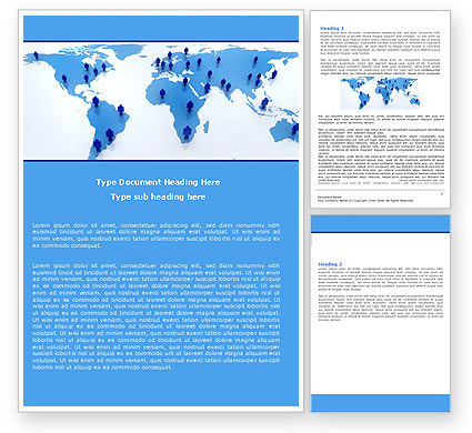 Global: Network Word Template #05825