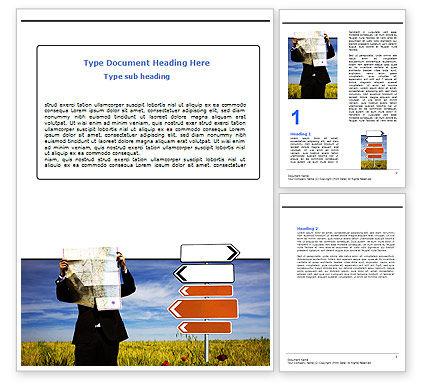 Choosing Root Word Template, 05832, Business Concepts — PoweredTemplate.com