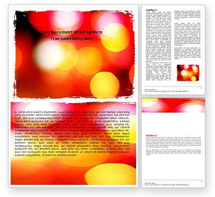 Abstract/Textures: Bokeh im foto Kostenlose Word Vorlage #05875