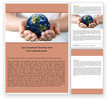 Global: World Access Word Template #05898