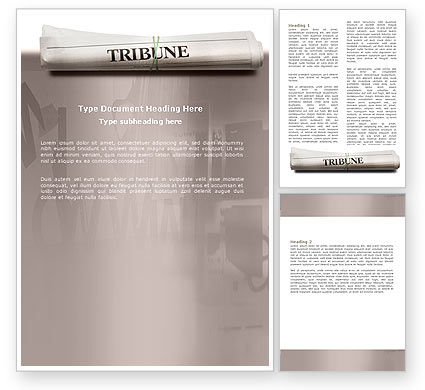 magazine template for word