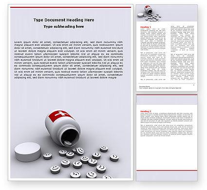 Tablet Word Template, 05942, Medical — PoweredTemplate.com