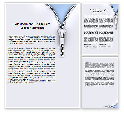 Free Fastener Word Template, 06034, Business Concepts — PoweredTemplate.com