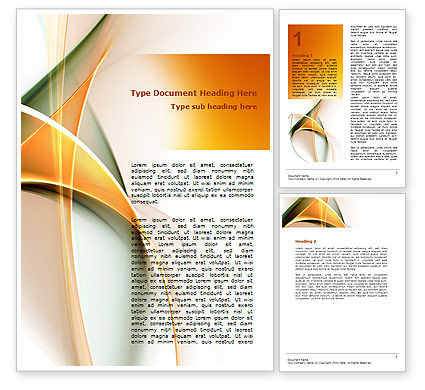 Abstract/Textures: Lines Word Template #06206
