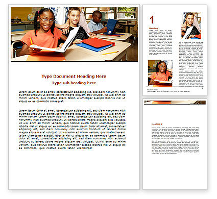 Education & Training: Back-To-School Word Template #06244