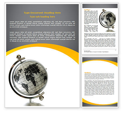 Global: Modelo do Word - geografia #06246