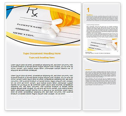 Medical Records In Data Base Word Template, 06278, Medical — PoweredTemplate.com