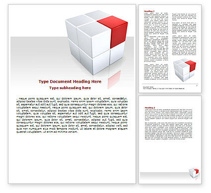 Integration Word Template, 06304, Consulting — PoweredTemplate.com