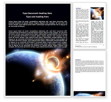 Nature & Environment: Big Bang Crash Word Template #06306