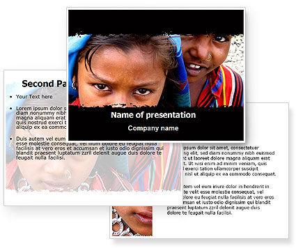 powerpoint templates children. Children Of The World PowerPoint Template, Children Of The World Background for PowerPoint Presentation.