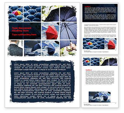 Consulting: Umbrella Mania Word Template #06314