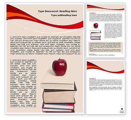 Education & Training: Modello Word - La conoscenza del libro #06355