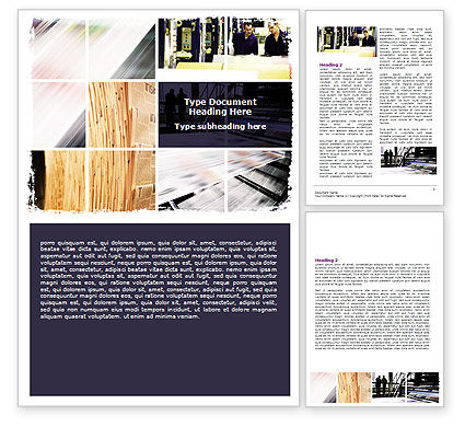 newspaper template for word. Newspaper Printing Word Template #06393
