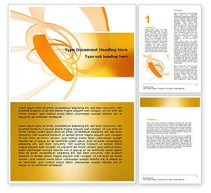 Abstract/Textures: Modèle Word de ruban d'orange #06472
