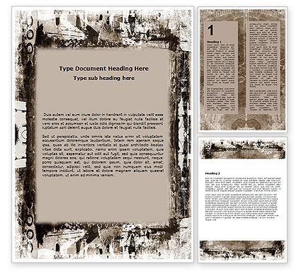 Abstract/Textures: Modelo do Word - abstrato do grunge #06501
